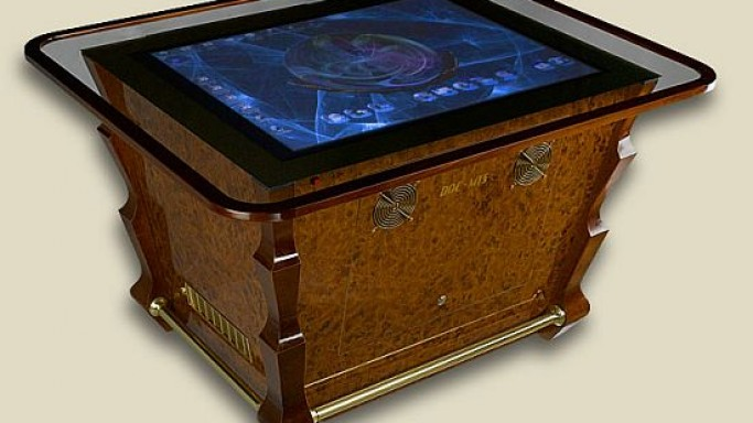 Multitouch Table Baroque is luxurious 'surface' for your riches