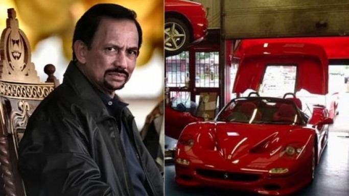 Sultan of Brunei's rare right hand drive Ferrari F50 up for grabs