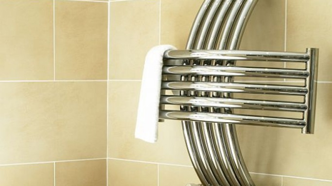 New Abstract CN011A luxury towel warmer from Vogue UK