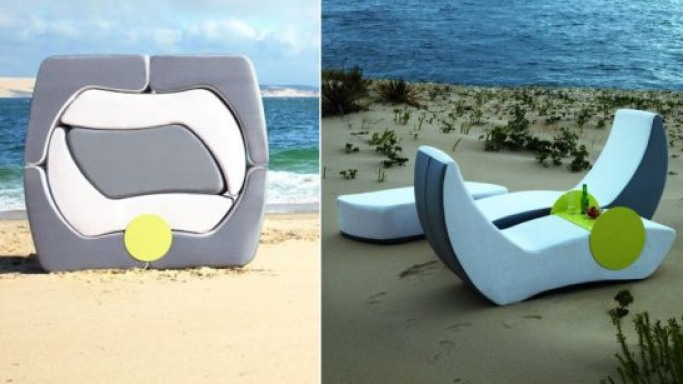 Puzzle outdoor furniture collection by Ego Paris