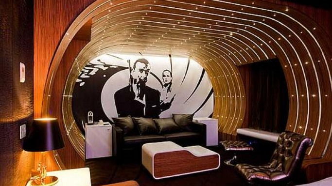 The 007 Suite at the Seven Hotel, Paris