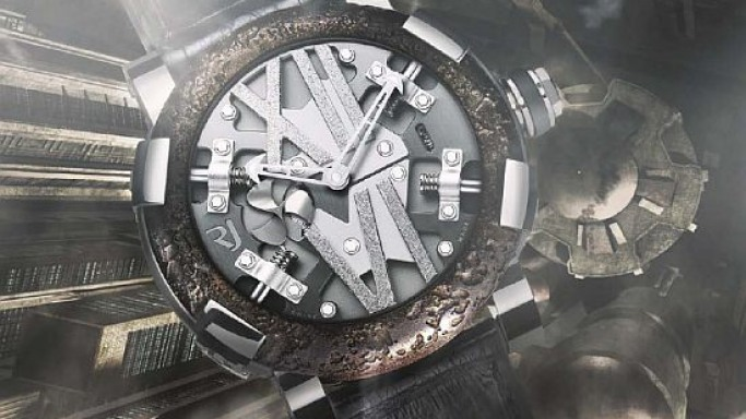Romain Jerome strikes back with the Steampunk