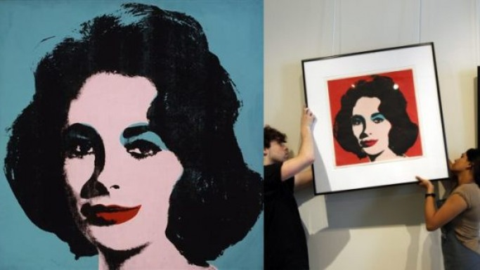 Andy Warhol's Liz Taylor portrait could fetch as much as $30 million