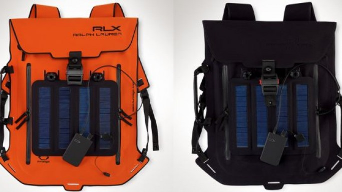 Ralph Lauren RLX solar backpack for the style conscious on the go