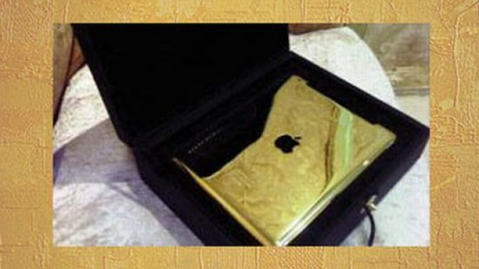 Gold & Co. of London brings 24-carat gold plated iPad 2 to Dubai