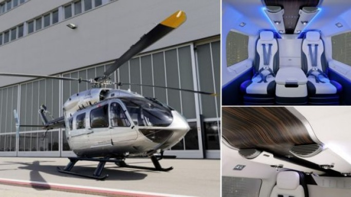 Mercedes-Benz Style luxury helicopter makes its world debut