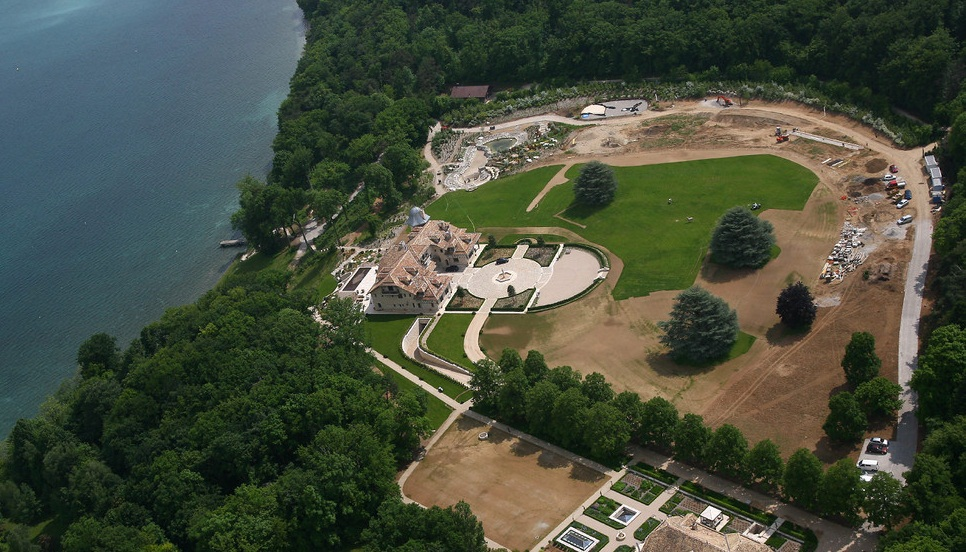 Michael Schumacher Mansion - Lake Geneva