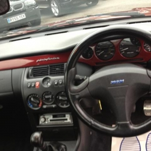 Fiat Coupe 20v Turbo Interior
