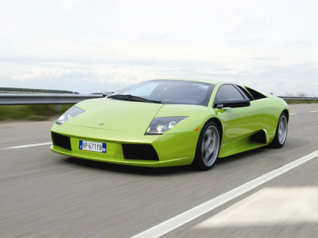 Murcielago car - Color: Lime  // Description: amazing