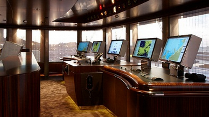 The monitoring room